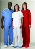 Unisex Scrub Uniform, Medical Uniform Can Be Custom with Many Colors --LCM08
