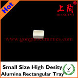 Small Size High Density Alumina Rectangular Tray