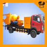 Jbc30 Concrete Pump Mixers Concrete Mixer Pump with Trailer