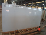 Pure White Nano Crystallized Glass Slab for Countertop and Tile