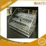 Pop up Custom Acrylic Compartment Storage Book Display Shelf