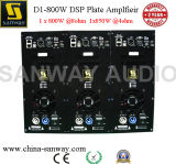 D1-800d 800W Single Channel Class-D Subwoofer Speaker Plate Amplifier with DSP; Built in Amplifier Module for Subwoofer Cabinet Box