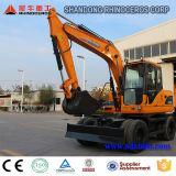 0.3cbm Bucket Wheel Excavator for Sale with Yanmar Engine
