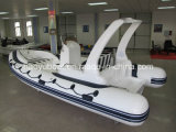 19feet 5.8m Cheap China Rib Boat, Outboard Boat Inflatable Rigid Boat