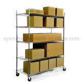 Chrome Mesh Shelf Heavy Duty Roll Rack Wire Shelving