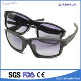 Unisex Mirror Plastic Injection Polarized Promotional Square Frame Sunglasses
