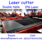 1000W CNC Fiber Laser Cutter with Double Table Built in Precise Stable Ipg Laser