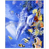 Polar Fleece Blanket with 3D Cartoon Printed Pattern