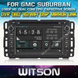 Witson Car DVD for Gmc Suburban Car DVD GPS 1080P DSP Capactive Screen WiFi 3G Front DVR Camera