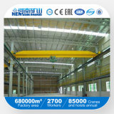 Wireless Remote Moter-Driven Single Girder Bridge Crane/Eot Crane Widely Used Workshop with Rail Travelling