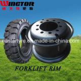 Factory Direct Supply Forklift Tire Rim Wheel (3.00d-8 4.00e-9)