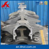 CNC Machining Frame Parts From Sand Casting and Iron Casting