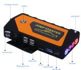 Jx28 Mini Portable Car Jump Starter / Multi-Function Compass / Power Bank Battery Charger