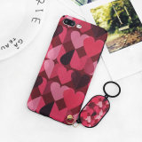 Cellphone TPU Love Pattern Design Phone Cases for iPhone 7/8/X