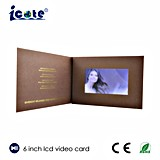 Factory Price for 6 Inch Video Brochure/Video Card in Print