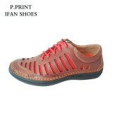Breathable Sports Travel Shoes Mesh and Leather