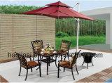 Outdoor /Rattan / Garden / Patio / Hotel Furniture Cast Aluminum Chair & Table Set (HS 3196C &HS 7132DT)