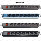 19 Inch Germany Type Universal Socket Network Cabinet and Rack PDU (1)