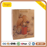 Bear Lovely Clothing Shoe Trousers Cosmetics Tea Kraft Paper Bag