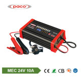 Ligao 24V 10AMP Battery Charger Deep Cycle 70-200ah Lead-Acid Battery