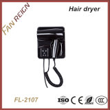 Best-Selling Wall-Mountable Hair Dryer with Socket