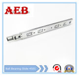 2017furniture Customized Cold Rolled Steel Three Knots Linear for Aeb4501-200mm Full Extension Ball Bearing Drawer Slide