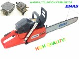 Emas Popular Gasoline Chain Saw with Original Walbro or Tillotson Carburetor Motosierra with Ce (EH365)