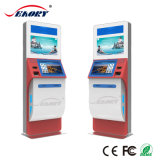 Self Booking Hotel Check in Kiosk with Card Dispenser