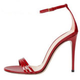 2020 Fashion High Heel Ankle Strap Women′s Shoes Sandals