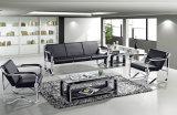 Modern Europe Design Steel Metal Leather Waiting Office Sofa (NS-S208B)
