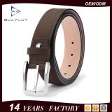 Men′s Leather Belt Genuine Cow Leather Nickle Free Buckle Belts