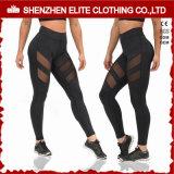 Latest Womens Fashionable Black Sexy Yoga Pants (ELTFLI-111)