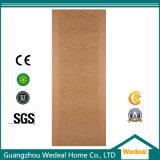 Solid Wood Interior MDF HDF Wood Veneer Door for Houses