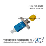 Sc/Male-FC/Female Optic Fiber Hybrid Adaptor with Low Insertion Loss
