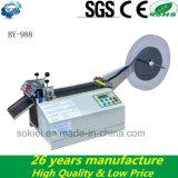 Microcomputer Cold Hot Knife Automatic Ribbon Nylon Tape Cutting Machine
