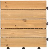 Removeable Outdoor Wood Flooring Tile with PE Base