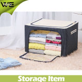 Fabric Decorative Clothes Collapsible Storage Box for Bedroom