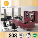 Popular Modern Design Luxury Office Table with Leather (AT032)