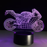 Table 3D Motorcycle LED Night Lamp