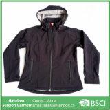 Comfortable Unisex Spring Coat in Black