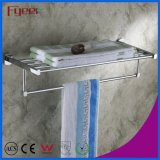 Fyeer Chrome Plated Brass Bathroom Removable Towel Rack
