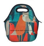Neoprene Thermal Insulation Lunch Tote Handbag/Neoprene Lunch Bag