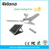 Solar DC Power Indoor Ceiling Fan with Light and Remote Controller