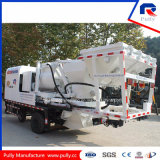 High Quality Truck Mounted Concrete Mixer Pump with Hydraulic System