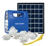 portable Graden Lighting Solar Home System with LED Bulb
