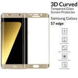 Edge to Edge 3D Curved Cell/Mobile Phone Accessories Tempered Glass Screen Protector for Samsung Galaxy S7 Edge