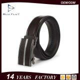 Custom Automatic Alloy Buckle Belts Genuine Cowhide Leather Men Belts