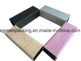 Fashion PU Leather Covered Handcrafted Eyeglasses /Sunglasses Case (EH6)