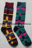 China Socks Factory New Fashion Mens Cotton Dress Socks