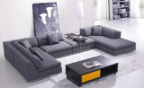 Modern Home Furniture Living Room Sofa Fabric Sofa Set (HC566)